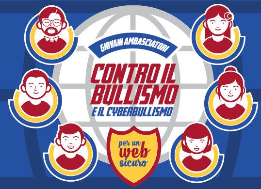 """Fa tappa a Montalto """"Giovani ambasciatori contro bullismo e cyber-risk"""""""