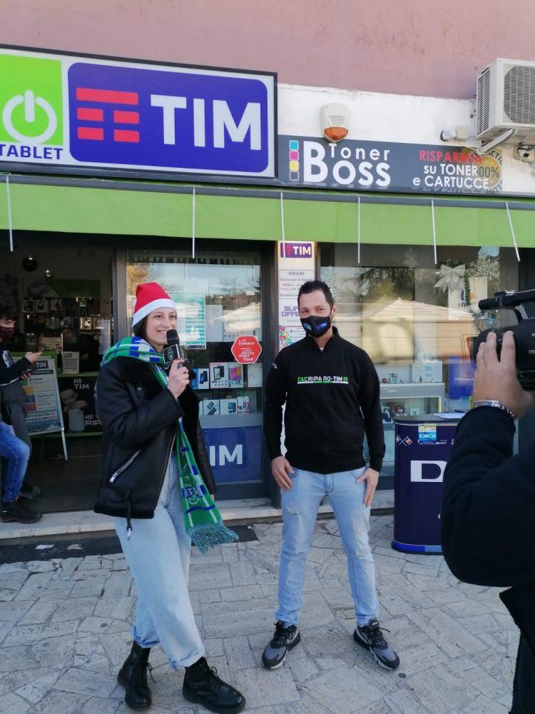 Ecco il Natale verdeazzurro: un tour con telecamere  per incentivare ad acquistare nei negozi di Cerveteri