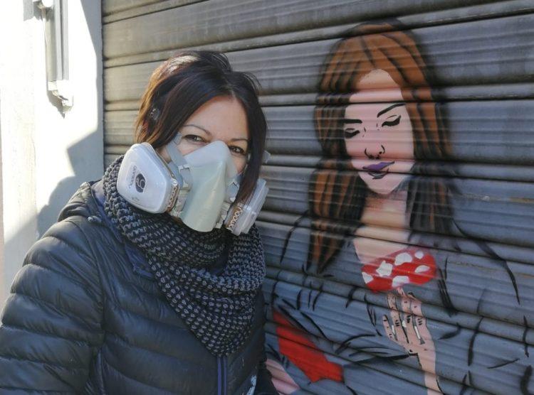 A Cerveteri     avanza      la street art