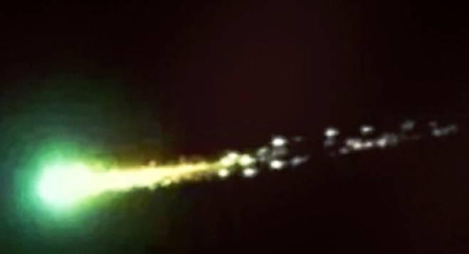 """Gli Ufo  """"visitano"""" il litorale"""