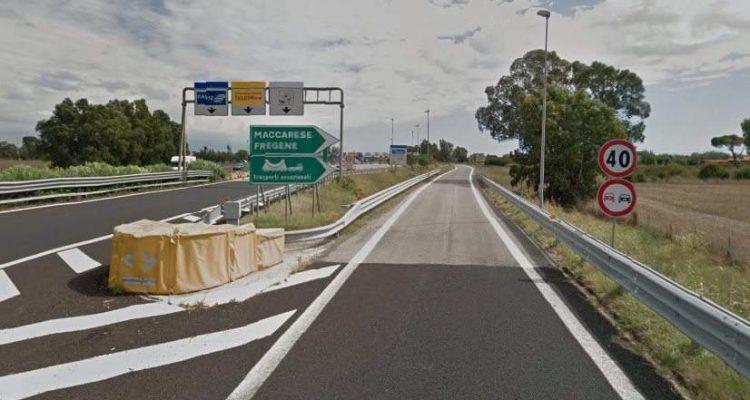Autostrada A12, dall'11 al 14 gennaio chiusure notturne della stazione Maccarese Fregene