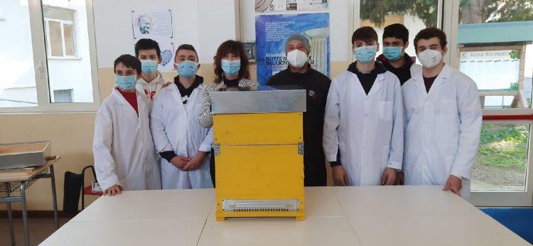 L'apicoltura approda al Cardarelli. Si arricchisce sempre di più l'offerta formativa della sezione di Agraria