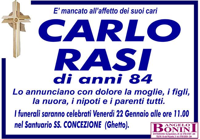 CARLO RASI