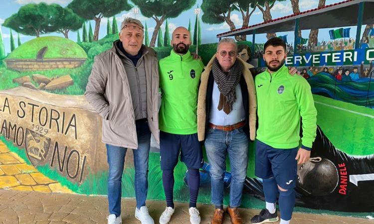 Città di Cerveteri, presi l'attaccante Di Mario e il centrocampista Silvagni
