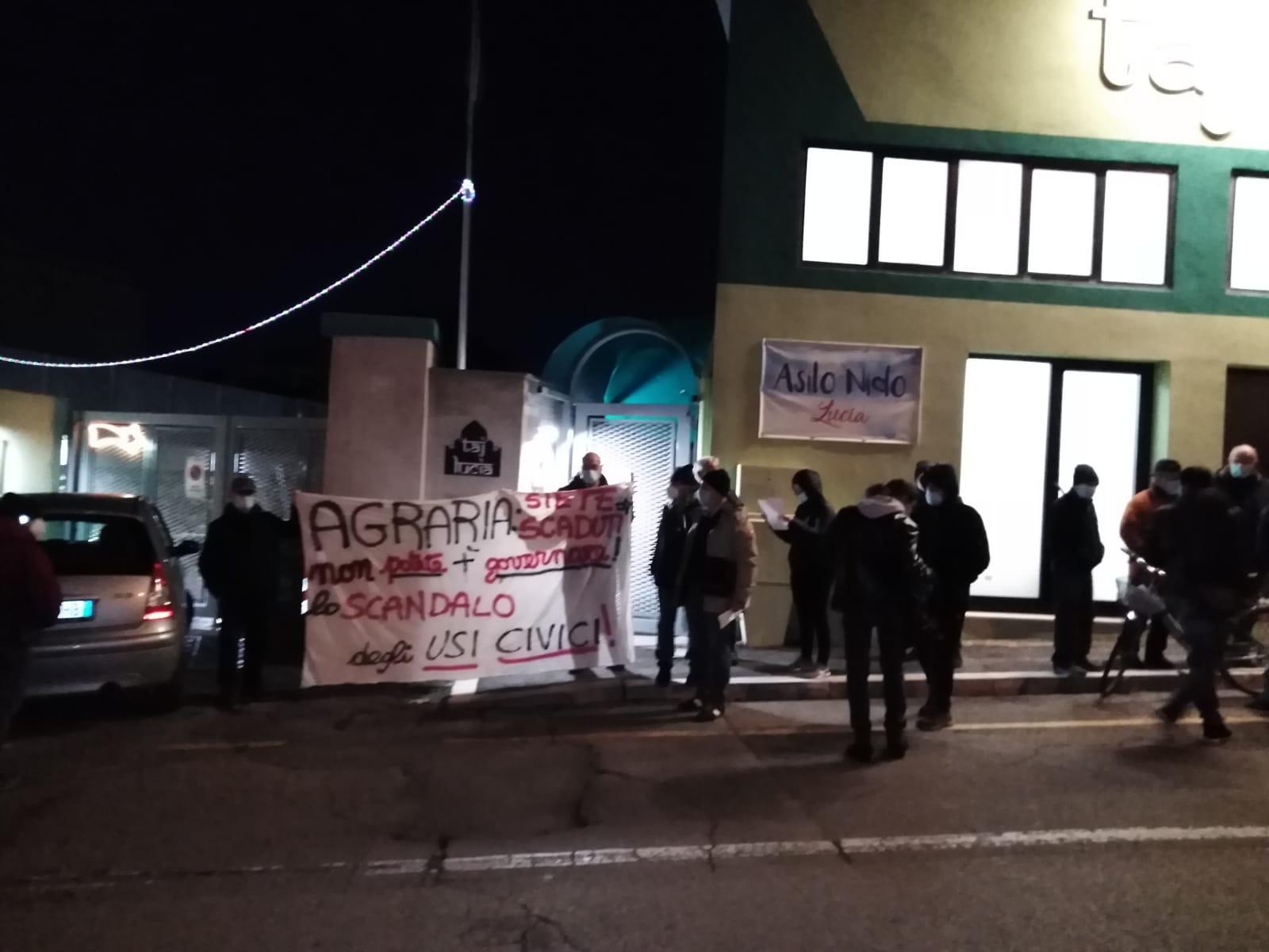 Agraria, salta il cda: protesta del comitato usi civici