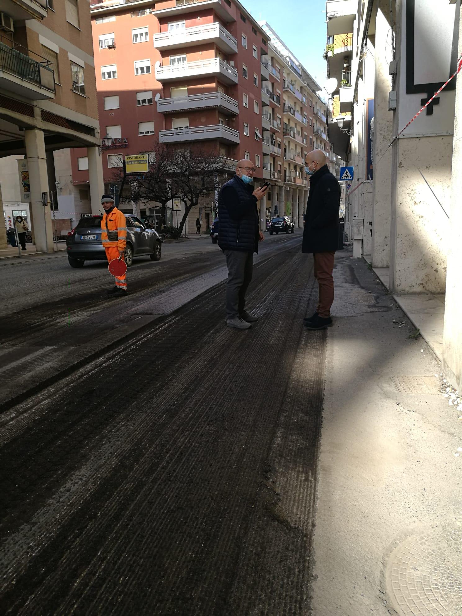 """Strade, De Paolis: """"Al via i lavori di ripristino in centro, a San Gordiano e La Scaglia"""""""