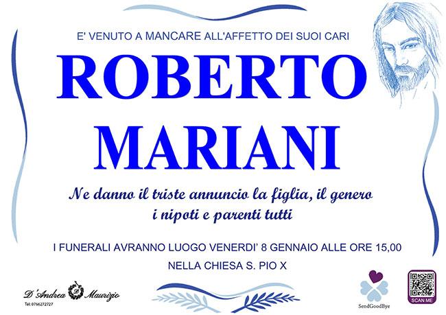 ROBERTO MARIANI