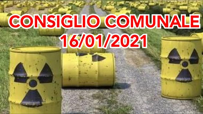 "Scorie nucleari, Corniglia: ""Venga garantita la massima trasparenza"""