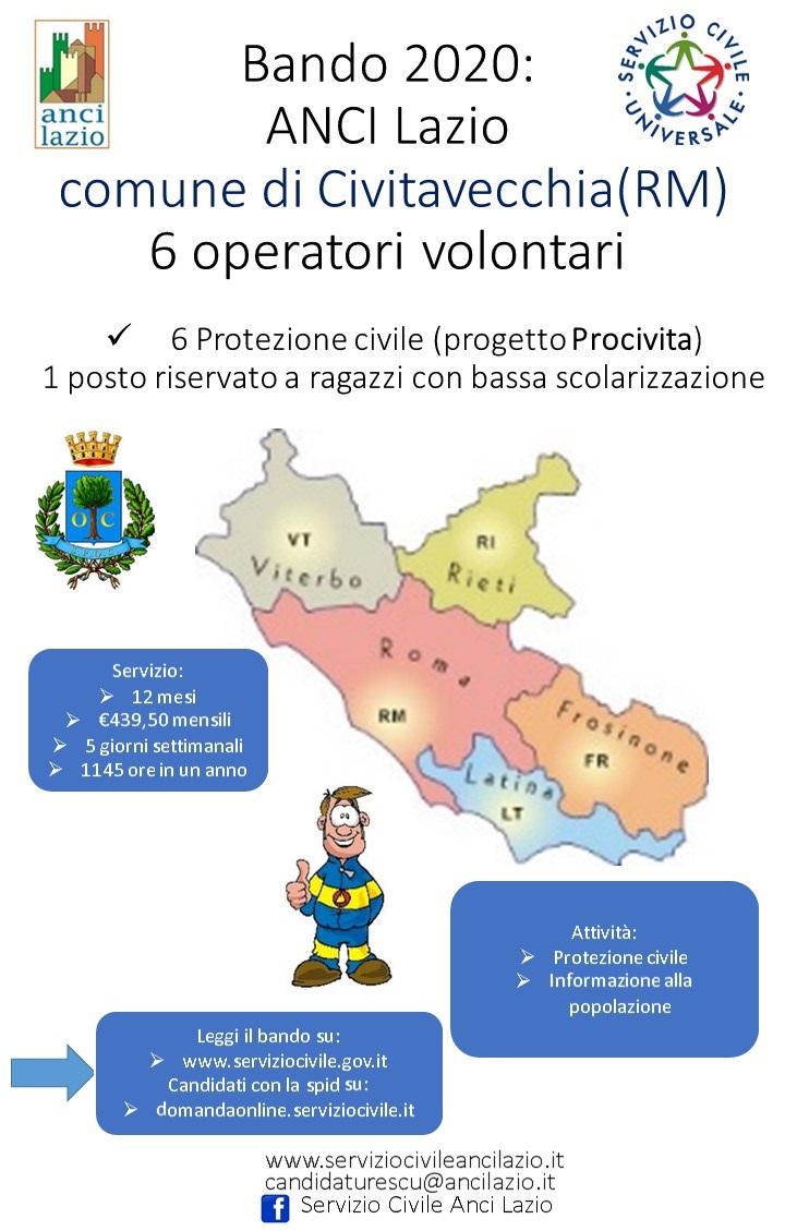 """Servizio civile con """"ProCivita"""": c'è tempo fino al 15 febbraio"""
