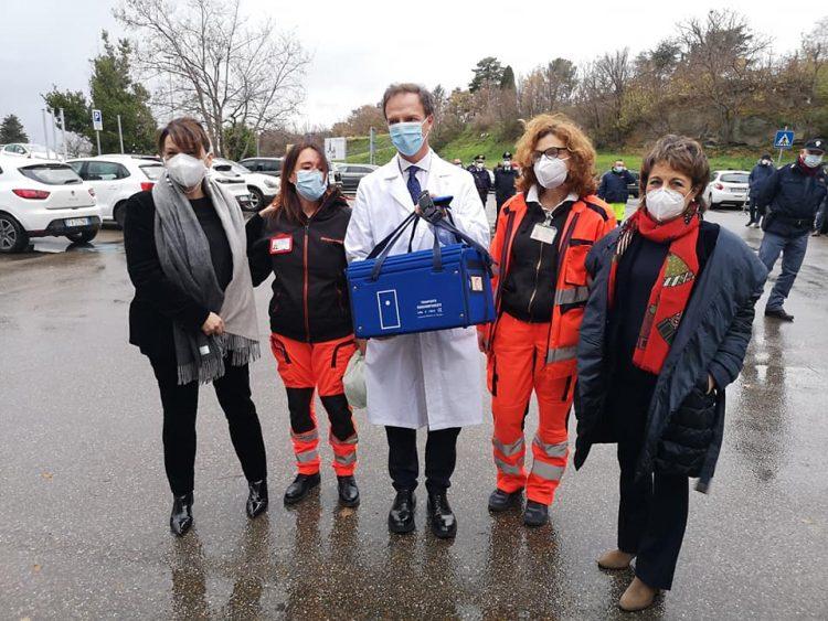 Asl Viterbo: partita la campagna vaccinale per le persone ultraottantenni con fragilità