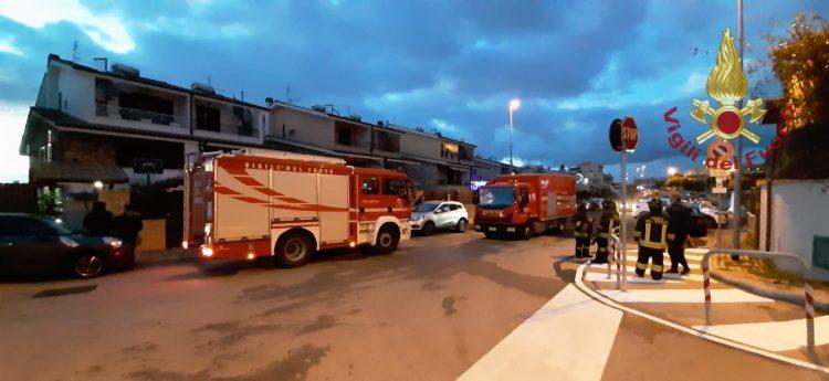 Fuga di gas in via Maestrale: intervento dei Vigili del fuoco