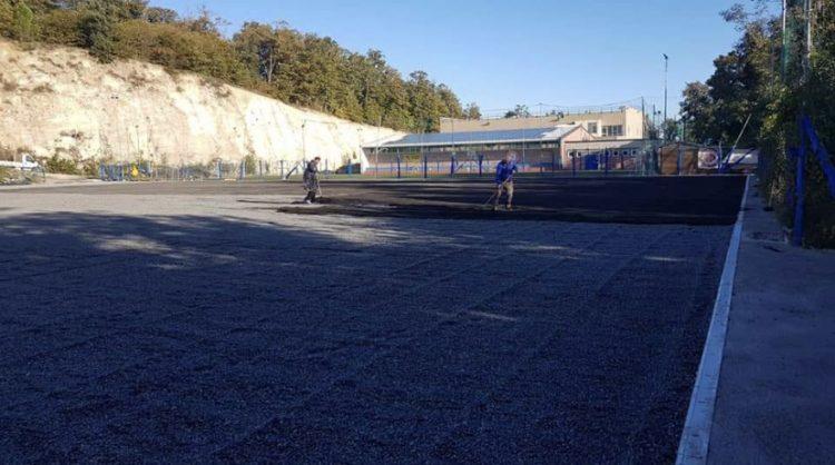 Campo sportivo Scoponi, i lavori procedono spediti