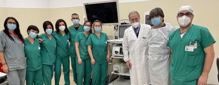 Ospedale, una nuova colonna endoscopica al San Paolo