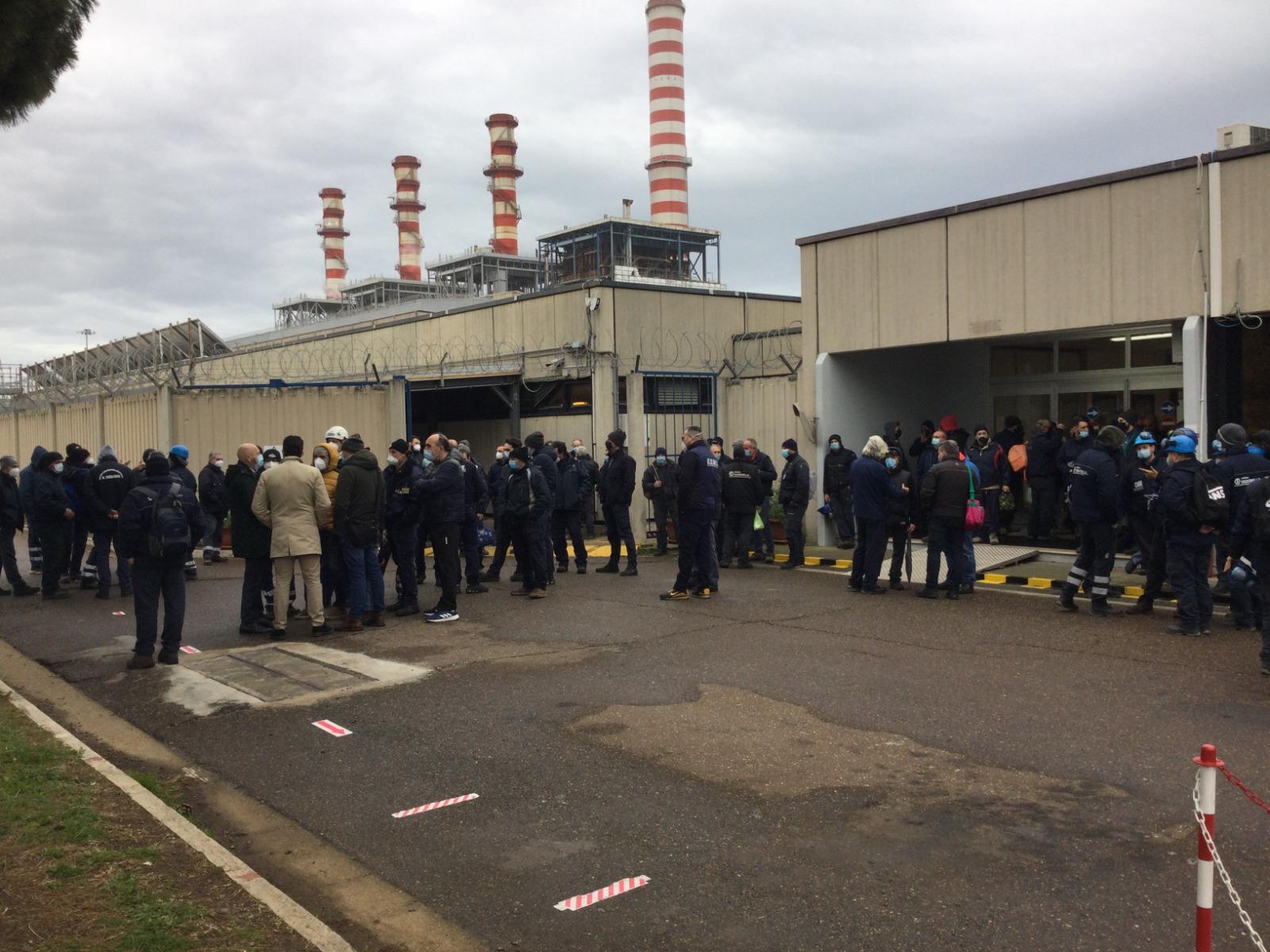 Civitavecchia: giornata di sciopero e di presidi a Tvn
