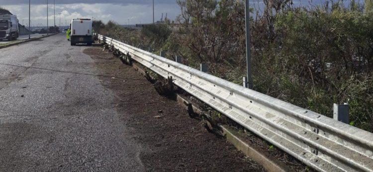 Sfalcio e spazzamento delle strade: Csp in azione anche in zona industriale