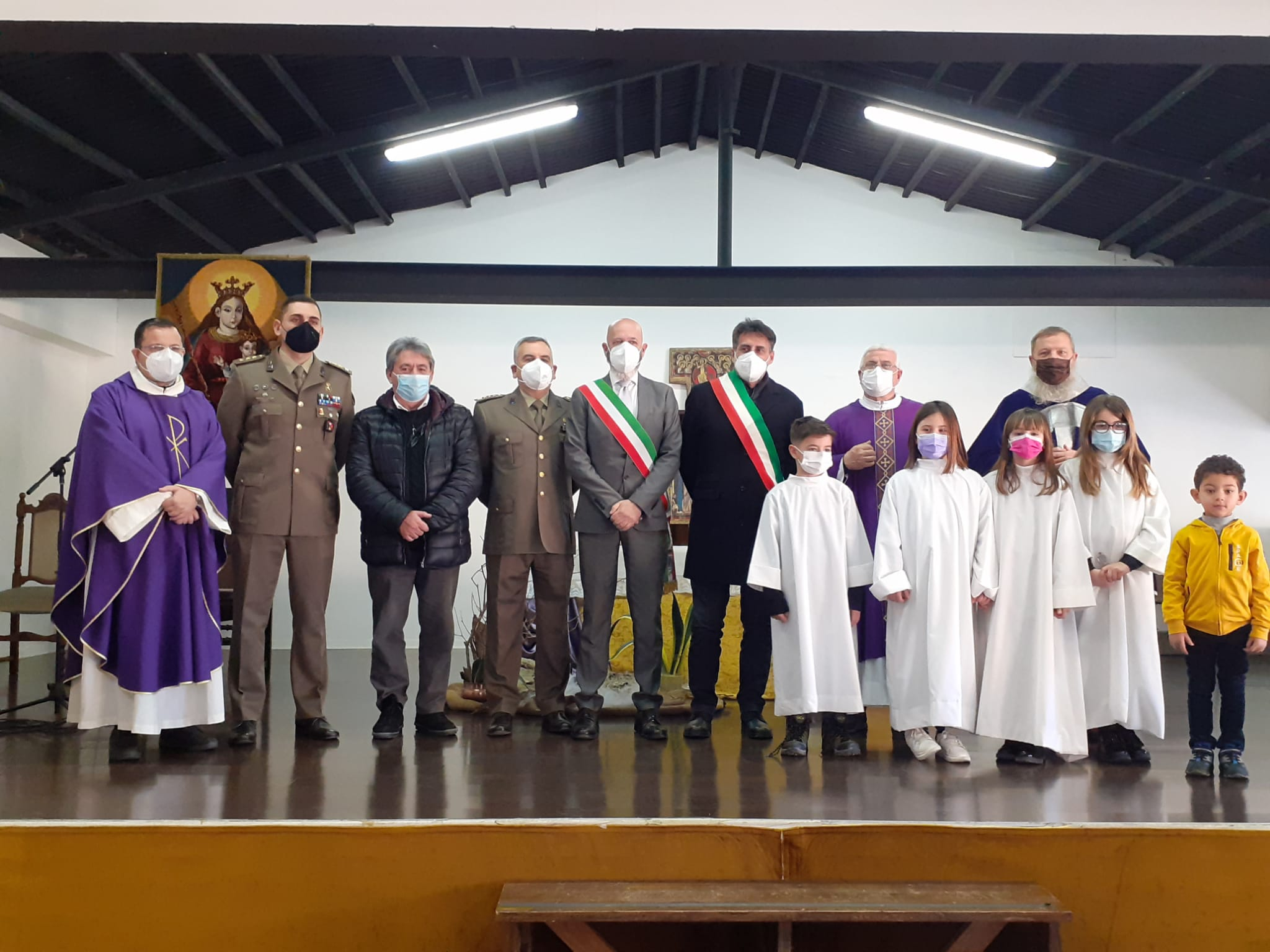 Cerimonia per il gemellaggio tra l'11° Reggimento e la città di Leonessa