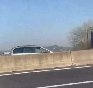 Contromano in autostrada sulla Roma – Fiumicino