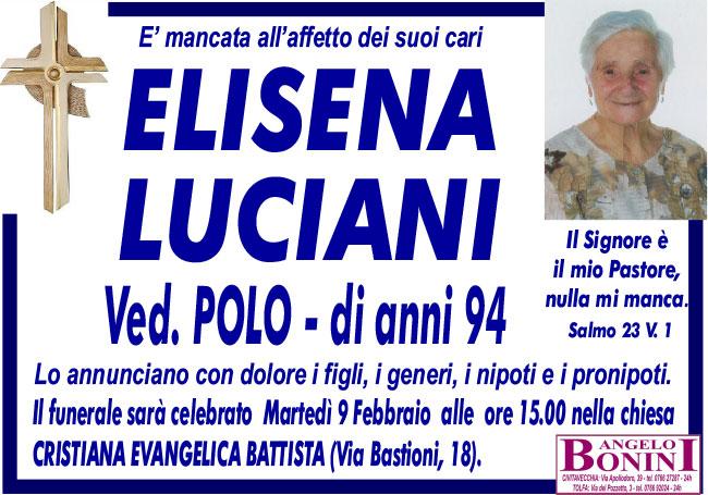 ELISENA LUCIANI ved. POLO di anni 94