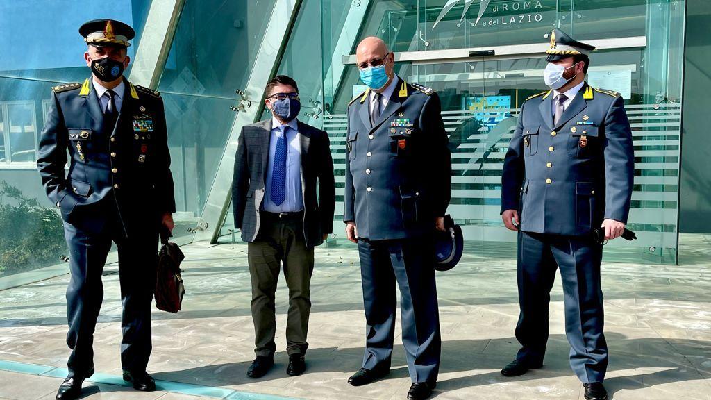 Porto, il presidente Musolino incontra il generale Lorusso