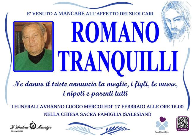 ROMANO TRANQUILLI