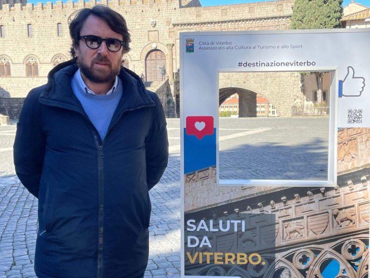 Saluti da Viterbo, De Carolis: quattro pannelli per la promozione social della città