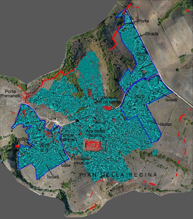 Indagini magnetometriche alla Civita: indicazioni sull'antico foro di Tarquinia