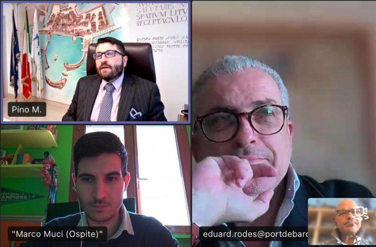 """""""Formati al porto"""", rinnovata la collaborazione tra Adsp e Escola Europea"""