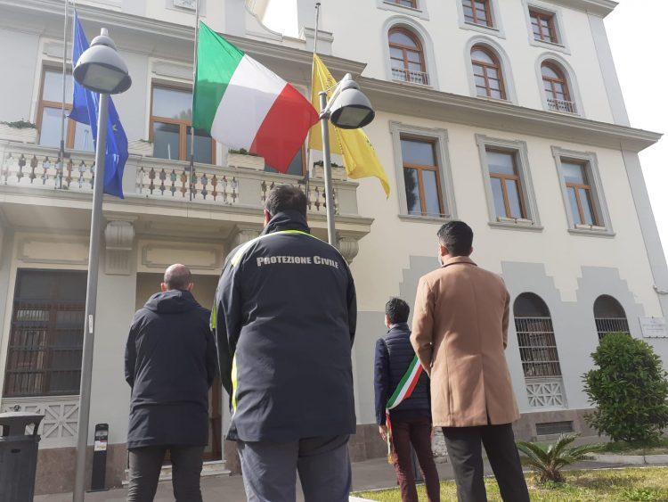 Civitavecchia commemora le vittime del Covid
