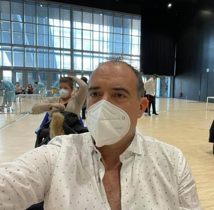 Il sindaco di Allumiere Antonio Pasquini     si è sottoposto al vaccino anti Covid