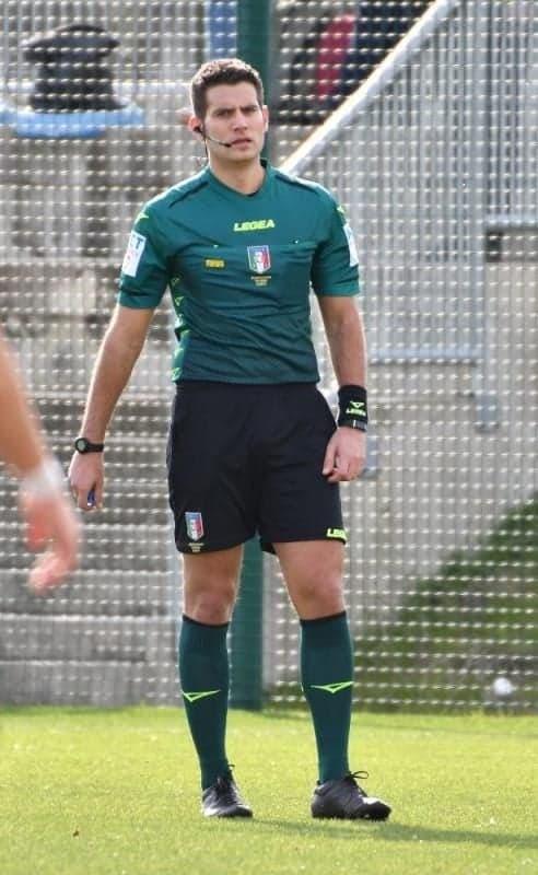 L'arbitro di Ladispoli Andrea Ancora designato per Novara-Grosseto