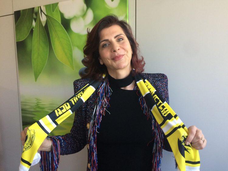 Donne e calcio: il Borgo San Martino omaggia il main sponsor Antonella Rizzato, da anni accanto al team cerite