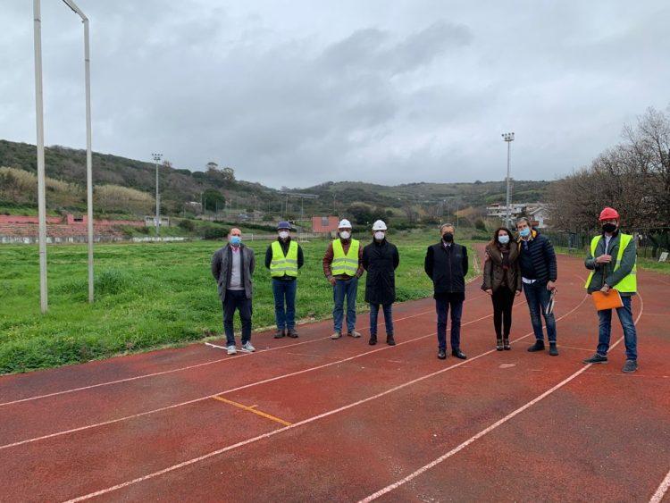 Santa Marinella, consegnato il cantiere per il rifacimento del campo sportivo