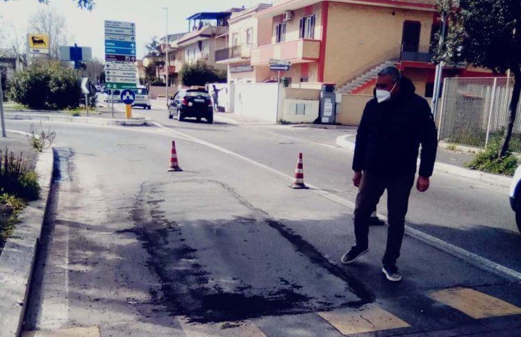Nuovo asfalto per le strade della città
