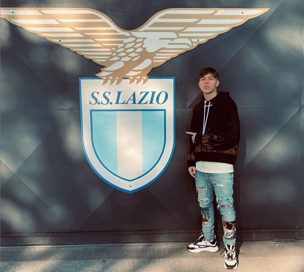 Il 19enne morto nell'incidente è il calciatore della Lazio primavera Daniel Guerini