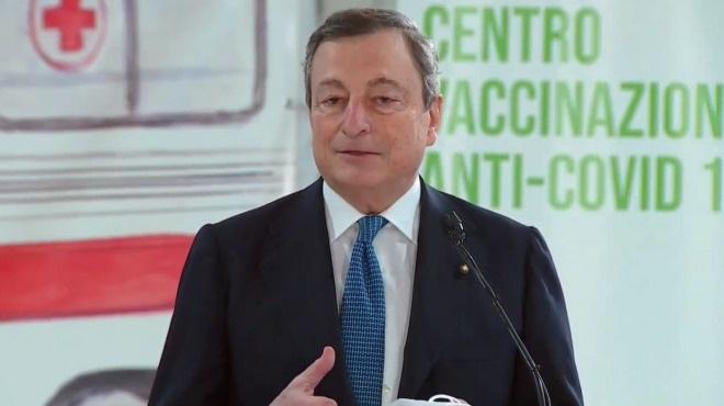 Covid, Draghi: riapertura delle scuole fino alla prima media