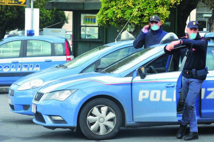 Lite in strada: arriva la Polizia