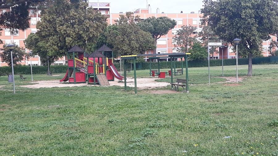 Zona rossa, parchi pubblici chiusi