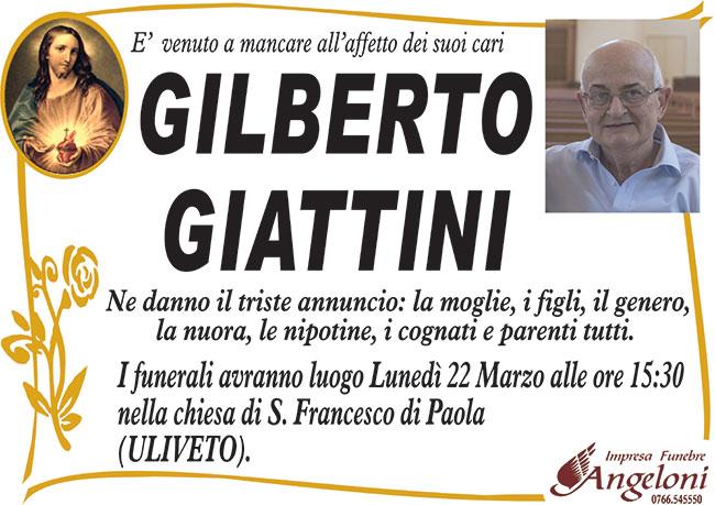 GILBERTO GIATTINI