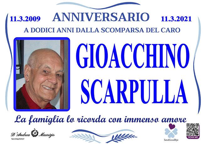 GIOACCHINO SCARPULLA – Anniversario
