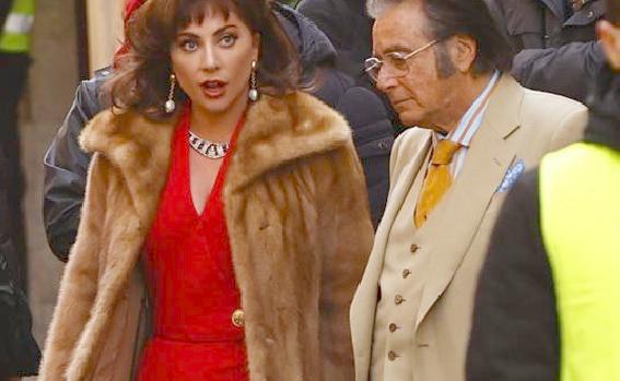 Lady Gaga e Al Pacino a Parco Leonardo