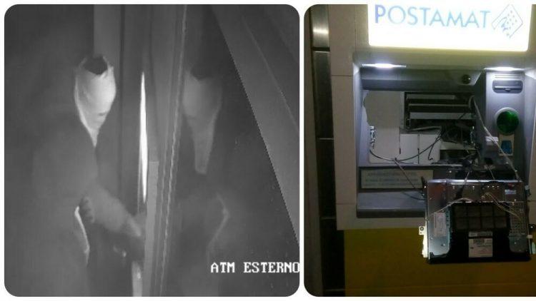 Tentano di svaligiare il postamat dell'ufficio postale di Santa Severa: ladri messi in fuga dal sistema di sicurezza
