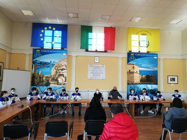 Snipers TecnoAlt Civitavecchia premiati a Palazzo del Pincio