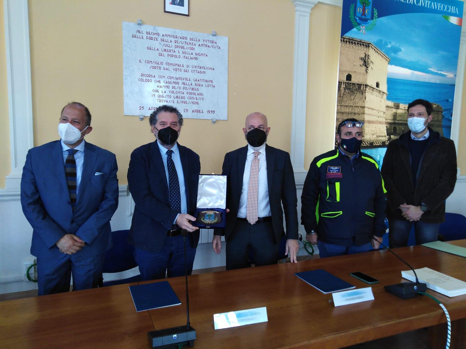 Protezione civile, firmato il protocollo Comune-Sapienza