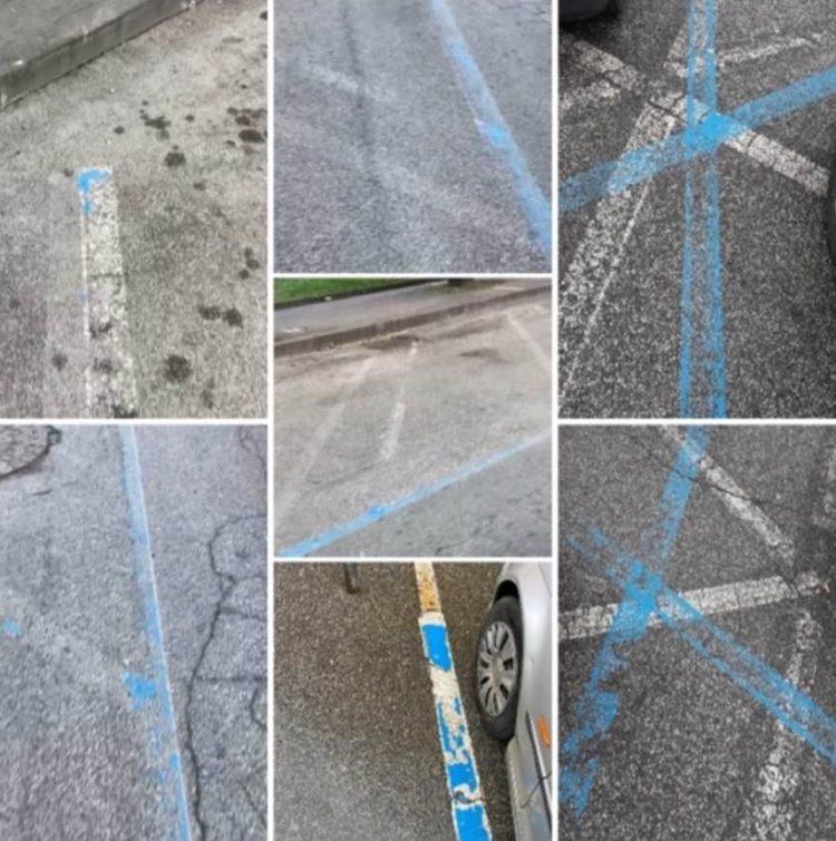 Caos nella delimitazione dei parcheggi, insorgono Orsomando e De Angelis