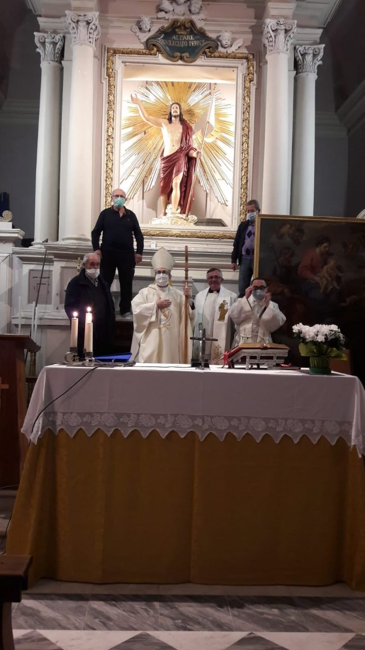 Settimana Santa, la domenica di Pasqua monsignor Ruzza presiederà la celebrazione nel Duomo di Tarquinia