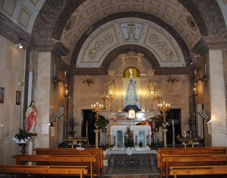 Rosario per l'Italia dal Santuario di Allumiere