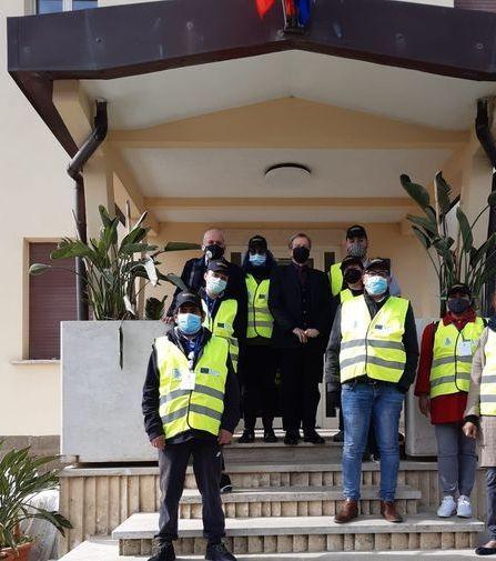In campo quindici volontari     per i controlli anti assembramento