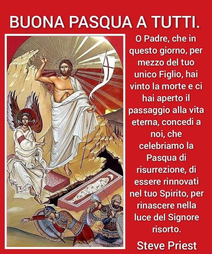 Il messaggio pasquale di don Stefano Fumagalli