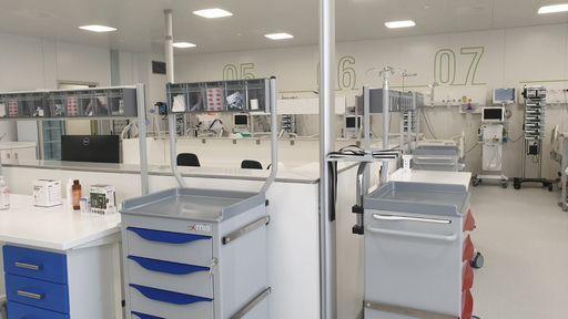 Zingaretti ha inaugurato 10 nuovi nuovi posti letto all'ospedale Belcolle di Viterbo