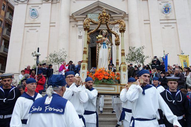 Santa Fermina: la patrona di Civitavecchia si festeggia in forma ridotta